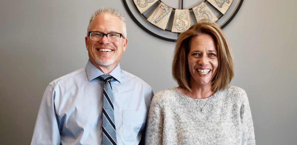 Chiropractor Colorado Springs CO Dr. Todd Adams and Maggie